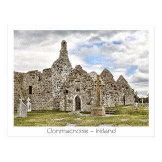 Carte Postale Clonmacnoise - l'Irlande
