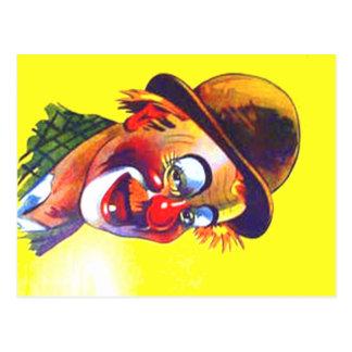 Carte Postale clown