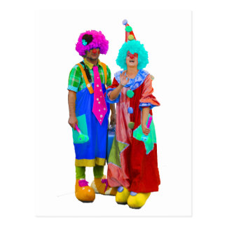 Carte Postale clowns