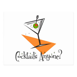 Carte Postale Cocktails n'importe qui ?