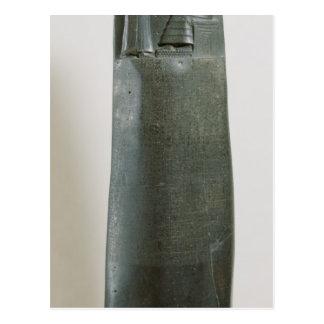 Carte Postale Code de Hammurabi
