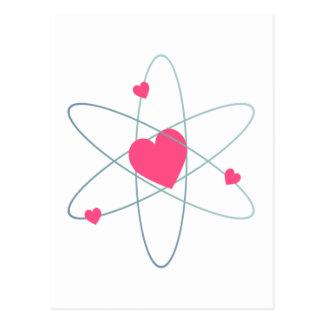 Carte Postale Coeur atomique