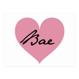 Carte Postale Coeur de Bae