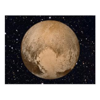 Carte Postale Coeur de ciel étoilé de Pluton