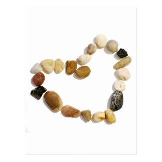 Carte Postale Coeur des pierres