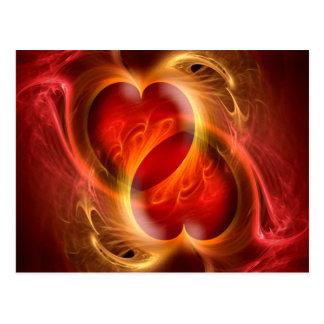 Carte Postale Coeur par coeur