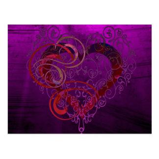 Carte Postale Coeurs