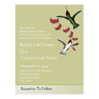 Carte Postale Coeurs grunges d'oiseaux de ronflement avec des