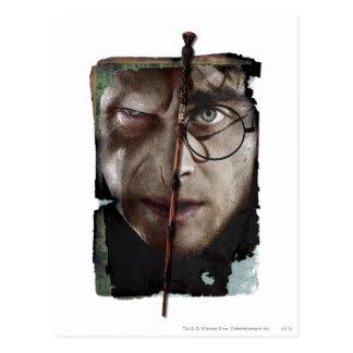 Carte Postale Collage 10 de Harry Potter