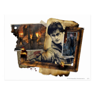 Carte Postale Collage 7 de Harry Potter