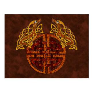 Carte Postale Collage celtique