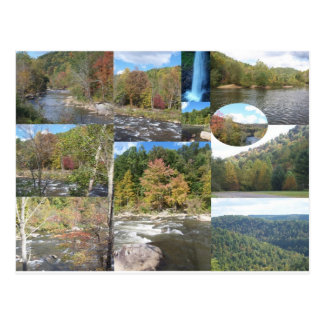 Carte Postale Collage d'Appalachia