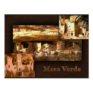 Carte Postale Collage de MESA Verde