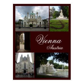 Carte Postale Collage de Vienne