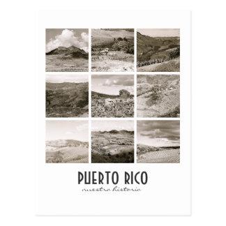 Carte Postale Collage vintage Porto Rico de WPA