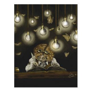 "Carte postale collectable de ""illumination"""