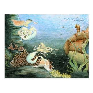 Carte postale collectable de observation de