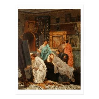 Carte Postale Collecteur d'Alma-Tadema | à l'heure d'Augustus