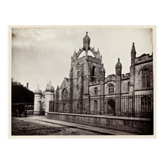 Carte Postale College du Roi - université d'Aberdeen - cru