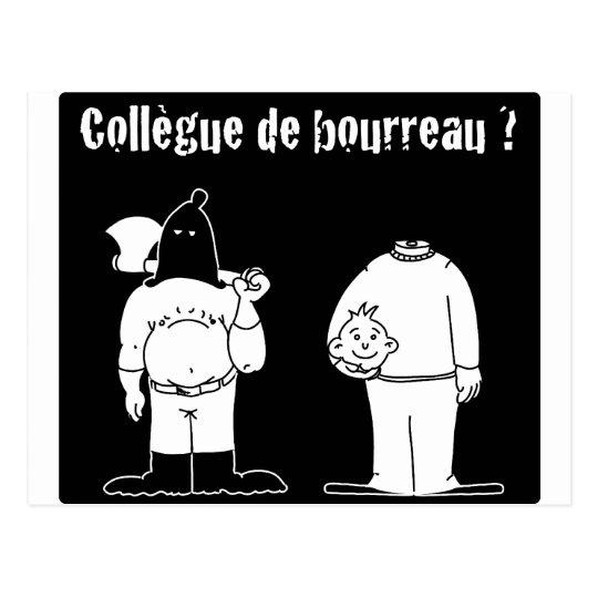 Carte Postale Collègue de Bourreau (Francois Ville & Gdb Gdblog)