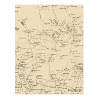 Carte Postale Colline, Cantorbéry