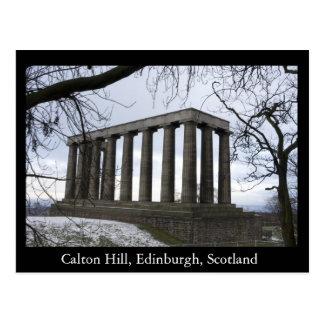 Carte Postale Colline de Calton, Edimbourg, Ecosse