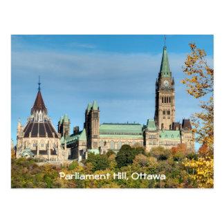 Carte Postale Colline du Parlement en automne, Ottawa