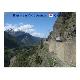 Carte Postale Colombie-Britannique Canada