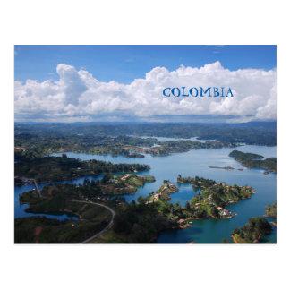 Carte postale | Colombie, Guatape, Medellín.