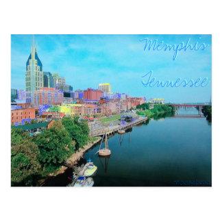 Carte postale colorée par Tennessee de Memphis