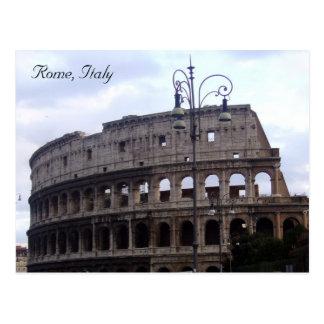 Carte Postale colosseum Italie