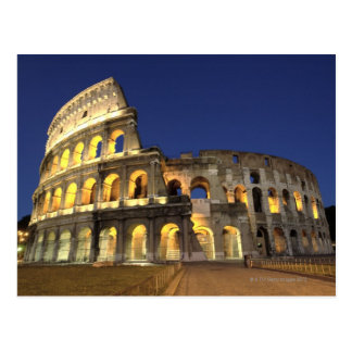 Carte Postale Colosseum romain, Rome, Italie 2