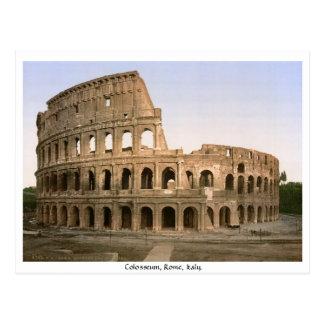 Carte Postale Colosseum Rome, Italie
