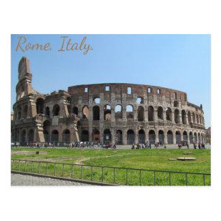 Carte Postale Colosseum. Rome, Italie