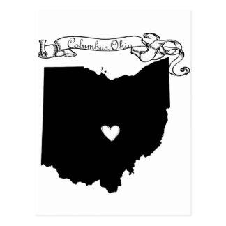 Carte Postale Columbus Ohio