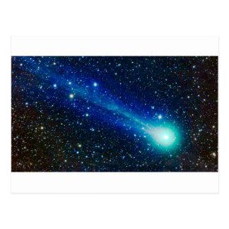 Carte Postale Comète bleue