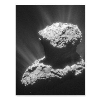 Carte Postale Comète Rosetta