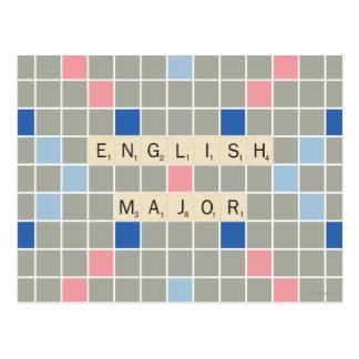 Carte Postale Commandant anglais