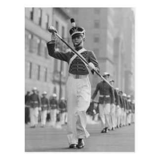 Carte Postale Commandant de tambour