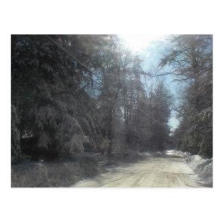 Carte Postale commande d'hiver