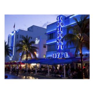 Carte Postale Commande d'océan, plage du sud, Miami Beach, 2