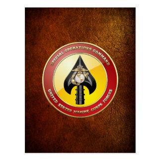 Carte Postale Commande d'opérations spéciales d'usmc (MARSOC)