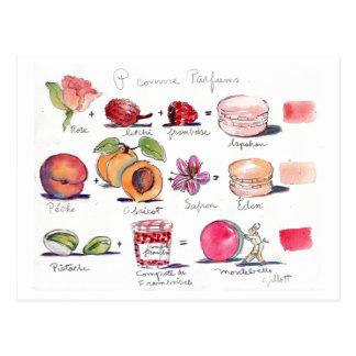 Carte Postale Comme Parfum Macaron de P