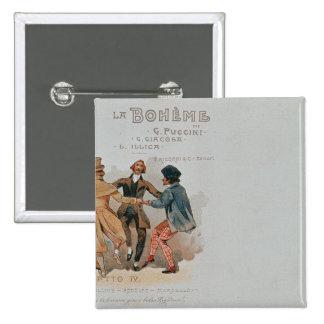 Carte postale commémorative La d'opéra ' Badges