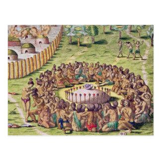 Carte Postale Comment le chef est enterré, de 'brevis