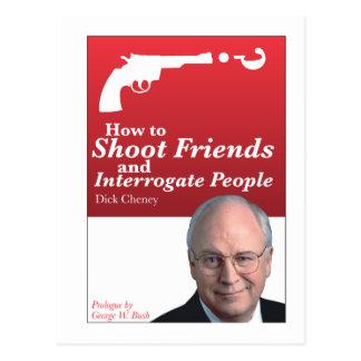 Carte Postale Comment tirer des amis et interroger des personnes