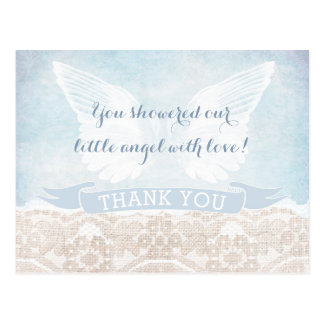 Carte Postale Communion providentielle de baby shower de note de