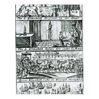 Carte Postale Complot papal, 1588