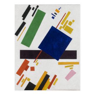 Carte Postale Composition en Suprematist par Kazimir Malevich