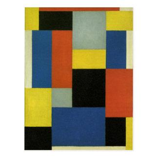 Carte Postale Composition XX par Theo van Doesburg